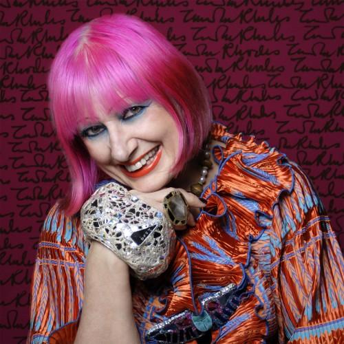 Fashion designer Zandra Rhodes DBE to speak at The Creative Process in London!