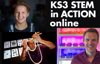 KS3 STEM in Action online !