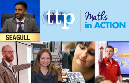 Final call for Maths in Action next Tuesday