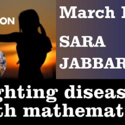 Sara Jabbari returns to Maths in Action ONLINE!