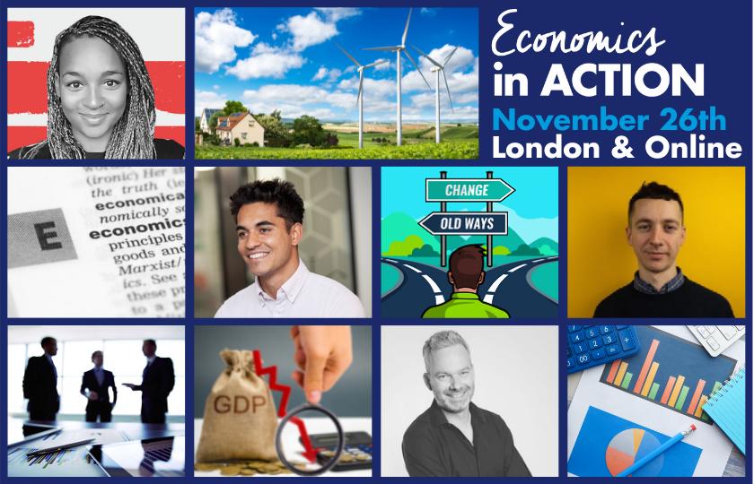 Economics to excite and energise…