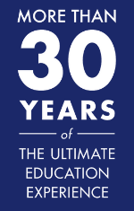 Celebrating more than 30 years of the ultimate education experience